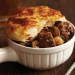 Southern Steak and Mushroom Pie