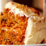 An Old Fashion Carrot Cake with Cream Cheese Icing