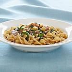Noodles with Pork Tenderloin and Apples