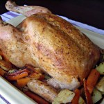 Whole Roast Chicken Vegetables