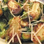 Brussels Sprouts Gralic Parmesan
