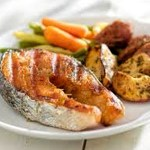 Roasted Salmon Baby Potatoes & Carrots (Cuisinart Convection Steam Oven)