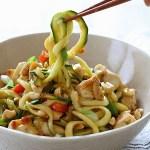 Kung Pao Chicken with Zucchini