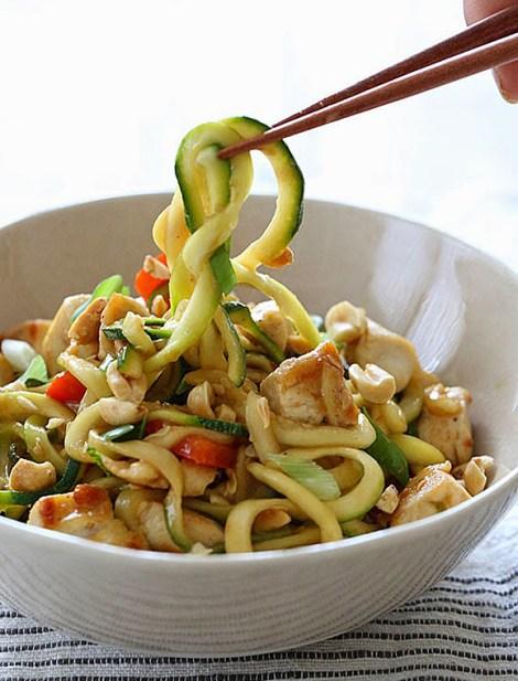 Kung Pao Chicken & Zucchi