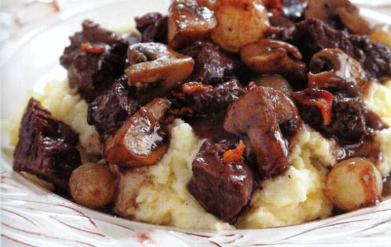 Slow Cooker Beef Burgundy