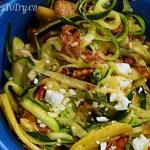 garlicky Zucchini Noodles Prosciutto Apple 2