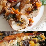 Turkey Tenderloin Stuffed with Butternut Squash & Cranberries or Figs