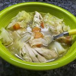 Cabbage & Chicken Soup