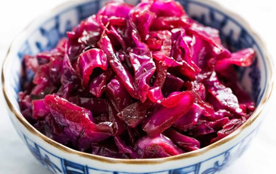 Bavarian Red Cabbage (instant pot mini)
