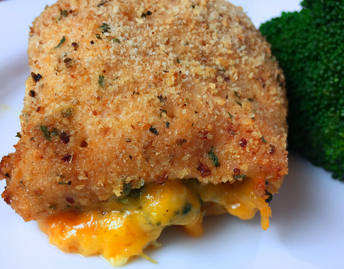Stuffed Chicken Breast With Broccoli And Cheddar