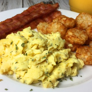 Best Damn Scrambled Eggs Recipe