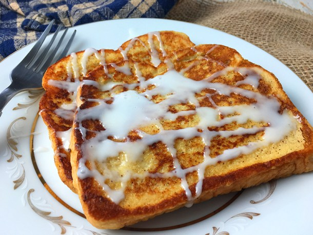 Cinnamon Roll French Toast Recipe
