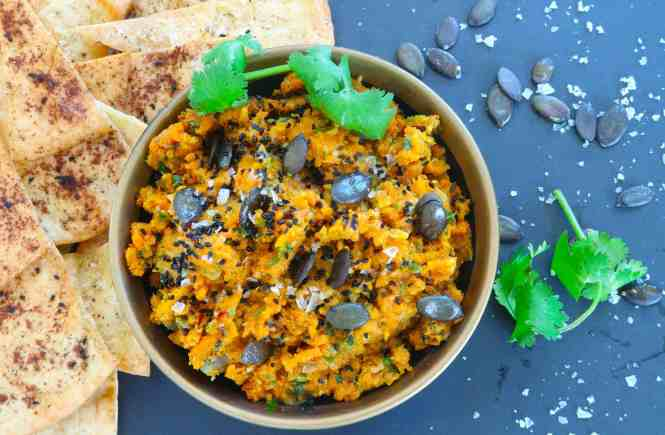 spicy moroccan carrot dip