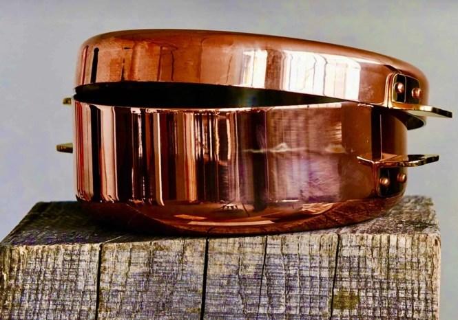 copper Pommes Anna pan