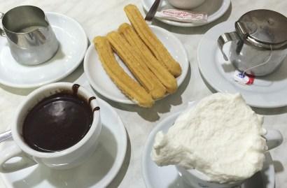 Pause goûter : chocolats et churros à Barcelone