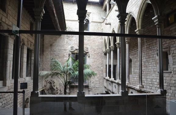 Cour intérieure du musée Picasso, Barcelone
