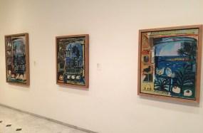 Ensemble de 3 tableaux au musée Picasso, Barcelone