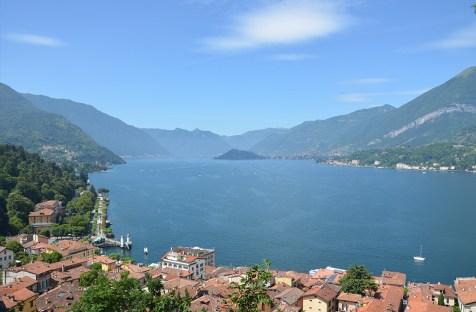 Vue sur le Lac de Côme et Bellagio, Italie