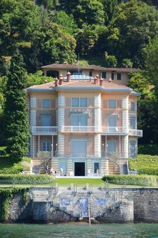 Hôtel particulier au bord du lac de Côme, Italie