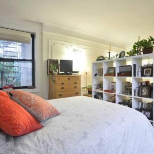 Chambre de notre appartement AirBnB de Brooklyn, New York.
