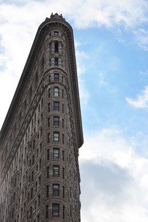 Façade du Flatirion Building, New York