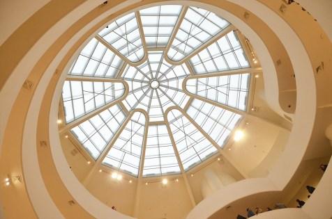 Plafond de verre du musée Guggenheim de New York