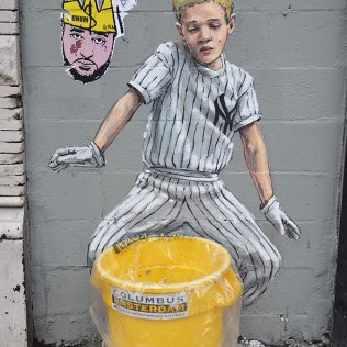 Street art à Harlem, New York