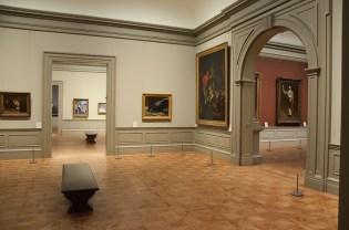 Plusieurs salles et tableaux du Metropolitan Museum of Art de New York
