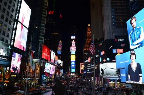 Time Square de nuit, New York