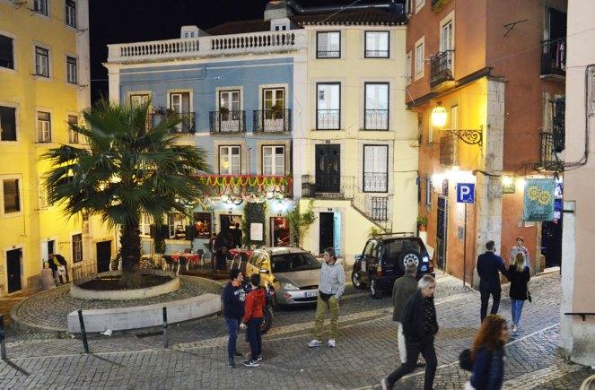 Rue de l'Alfama, Lisbonne
