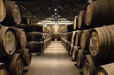 Fûts de cave de Porto