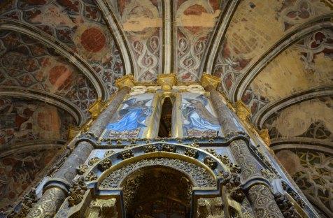 Chapelle du Couvent de l'ordre du Christ, Tomar, Portugal