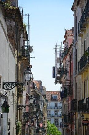 Ruelle colorée du Portugal
