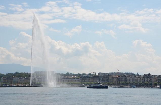 Le Lac Léman, Genève