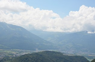 Vue sur les Alpes Suisses
