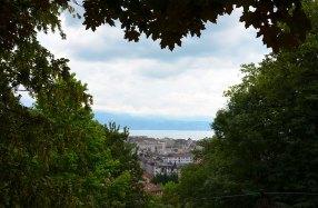 Vue sur les toits de Lausanne