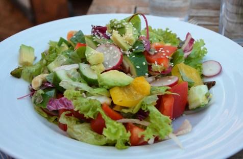Salade healthy, Prague