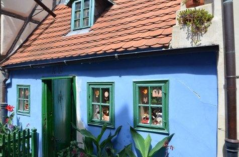 Maison bleue de la ruelle d'or, Prague