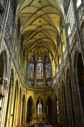 Intérieur de l'église du château de Prague