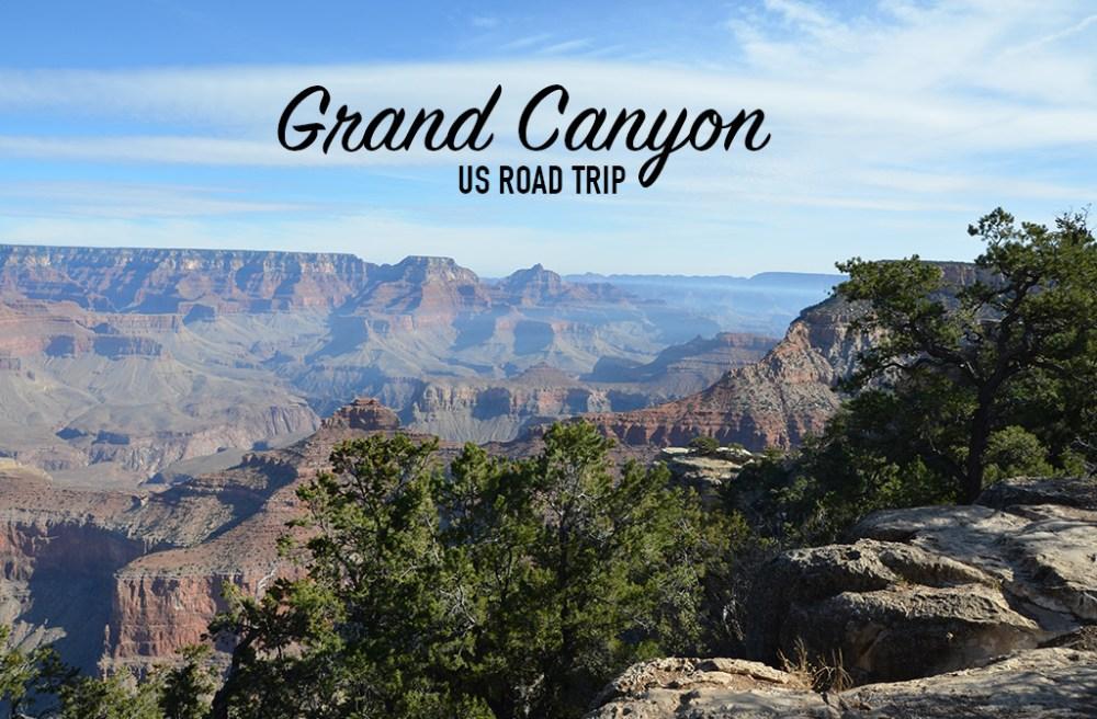 Paysage du Grand Canyon, US road trip