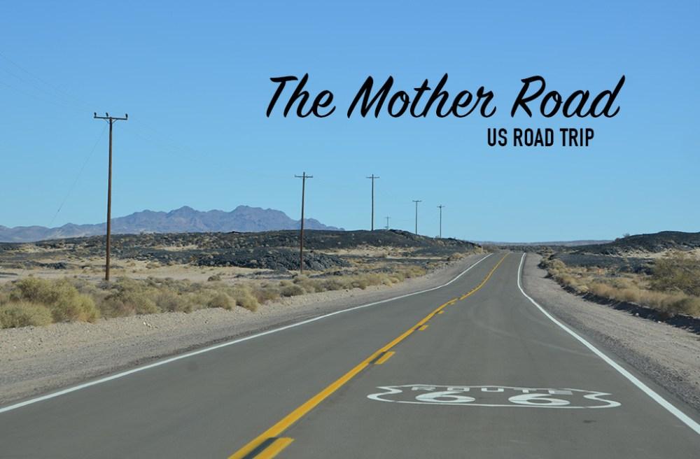 Route 66, US road trip