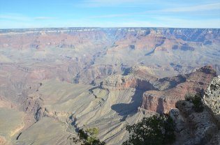 Vue du Grand Canyon depuis Yaki Point