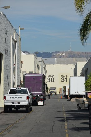 Allée des Paramount Studio, Hollywood, Los Angeles