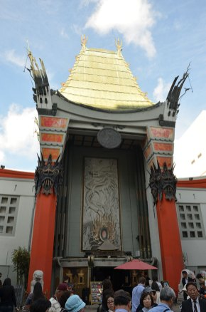 Façade de l'Hollywood Theater, Los Angeles