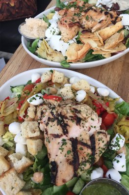 Salades healthy à Venice Beach, Los Angeles