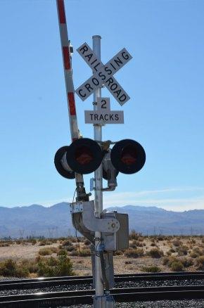 Voie de chemin de fer, Route 66