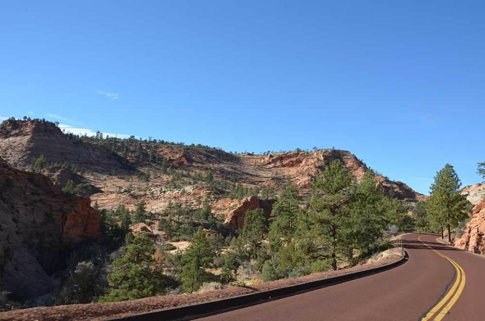 Route du Zion National Park, USA