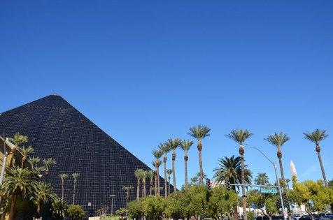 Pyramide de l'hôtel Luxor de Las Vegas