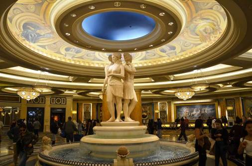 Intérieur du Caesars Palace, Las Vegas