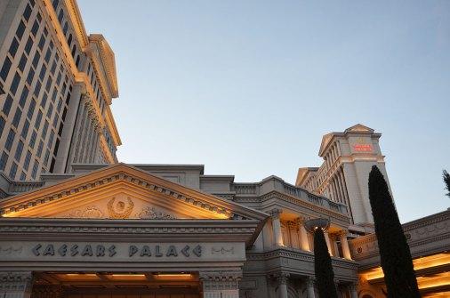 Façade du Caesars Palace, Las Vegas
